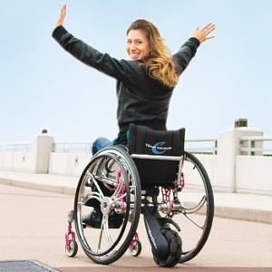 Motor eléctrico para sillas de ruedas manuales