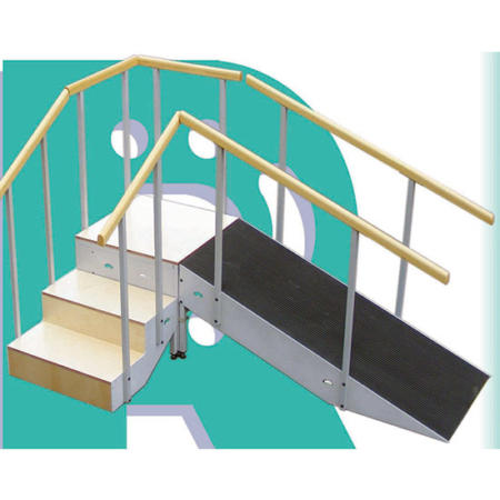 Escalera y rampa 3