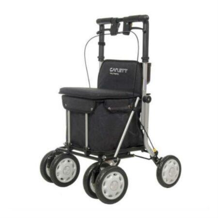 andador-lett-900-con-asiento-y-carro-para-la-compra-color-negro