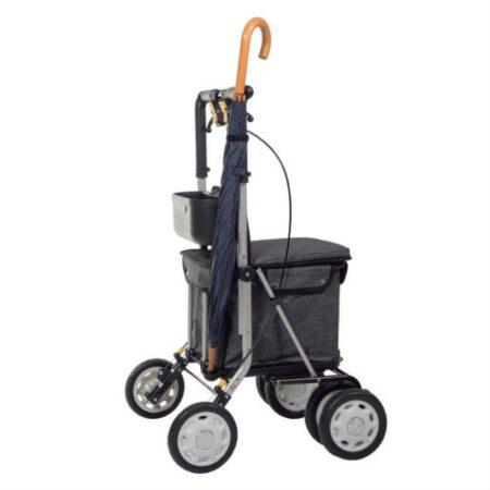 andador-lett-900-con-asiento-y-carro-para-la-compra-gris-soporte-paraguas