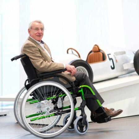 silla de ruedas de aluminio autopropulsable breezy style comodidad 1