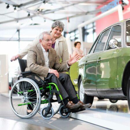 silla de ruedas de aluminio autopropulsable breezy style estilo 1