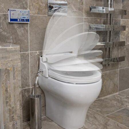 Bidet Aquatec Pure adaptado para inodoro funcionamiento