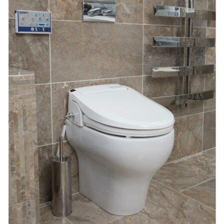 Bidet Aquatec Pure adaptado para inodoro uso