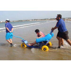 Sillas de ruedas para piscina / playa