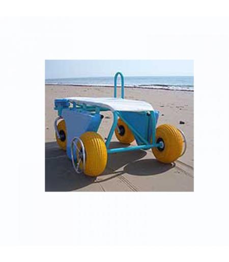 Silla de buceo Snorkel Enable en la playa