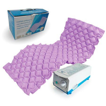 colchón lila