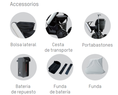 Accesorios Whill Model C