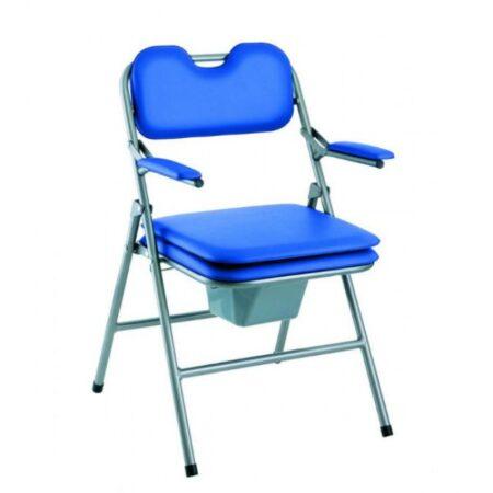 silla con inodoro plegable omega