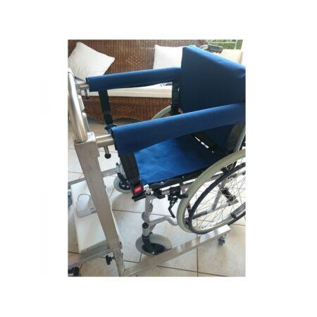 silla grua especial para el traslado de pacientes easygo 2