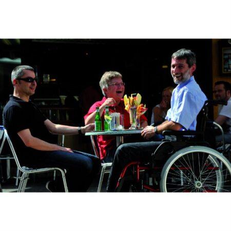 breezy rubix 2 silla de aluminio plegable multiajustable robusta