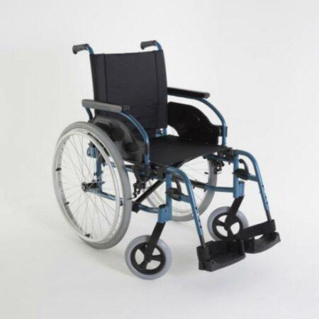 silla de ruedas de acero autopropulsable invacare action 1r