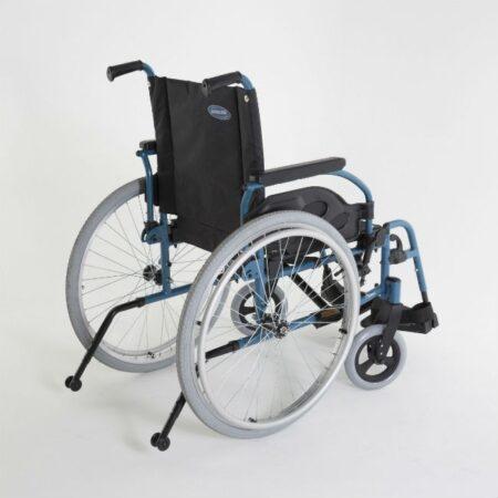 silla de ruedas de acero autopropulsable invacare action 1r multiples opciones y accesorios