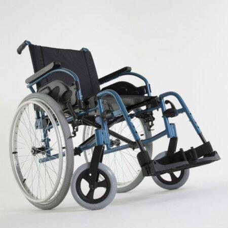 silla de ruedas de acero autopropulsable invacare action 1r robusta