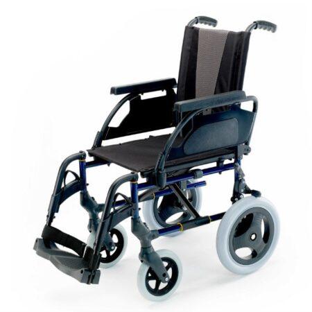 silla de ruedas de acero no autopropulsable breezy premiun configurable