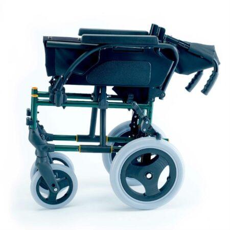 silla de ruedas de acero no autopropulsable breezy premiun plegable