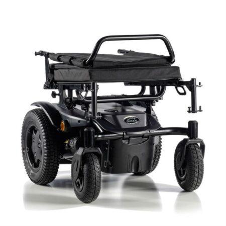 silla de ruedas electrica compacta quickie q200r plegable