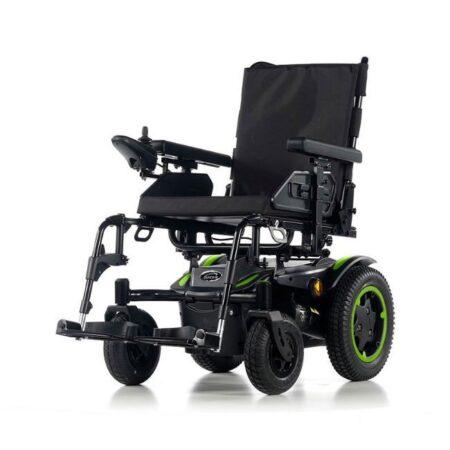silla de ruedas electrica compacta quickie q200r verde