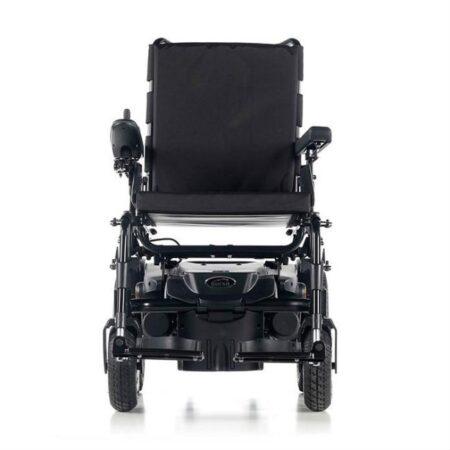 silla de ruedas electrica compacta quickie q200r vista frontal