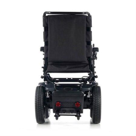 silla de ruedas electrica compacta quickie q200r vista trasera