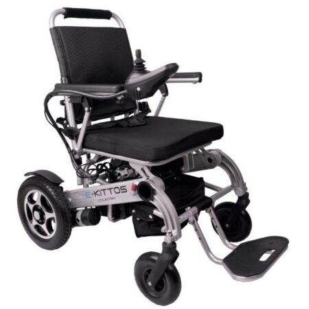 silla de ruedas electrica e kittos plegable de aluminio 1