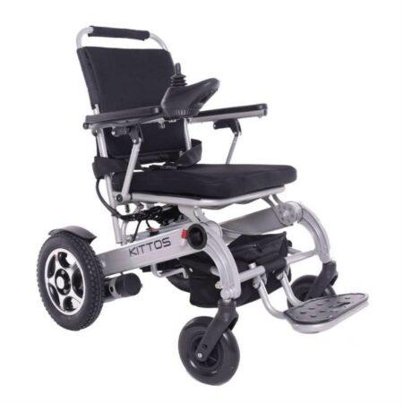 silla de ruedas electrica kittos country plegable de aluminio