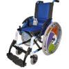 Silla de ruedas infantil Line Azul