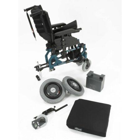 esprit action 4ng silla de ruedas electrica plegable 1