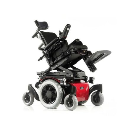 silla de ruedas electrica con traccion central zippie salsa m 2
