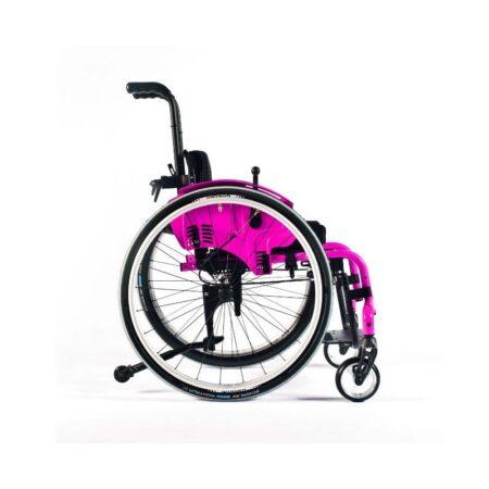 silla de ruedas infantil de aluminio autopropulsable de estructura rigida quickie simba 2