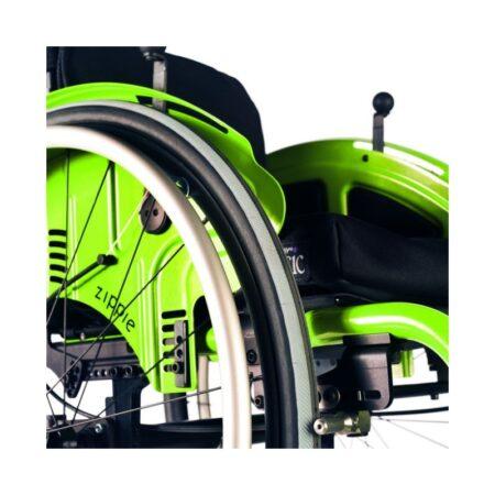 silla de ruedas infantil de aluminio autopropulsable de estructura rigida quickie simba 4