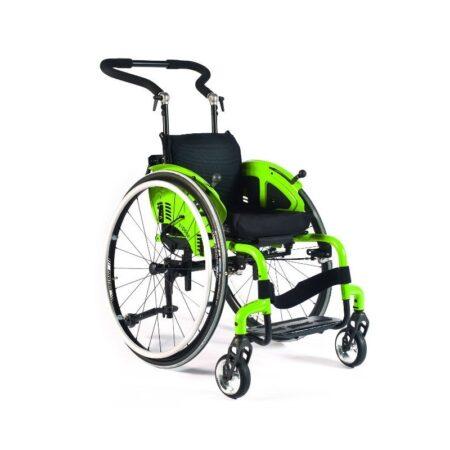 silla de ruedas infantil de aluminio autopropulsable de estructura rigida quickie simba