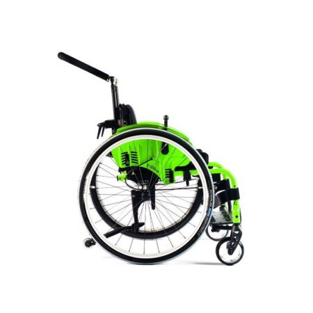 silla de ruedas infantil de aluminio autopropulsable de estructura rigida quickie simba 5