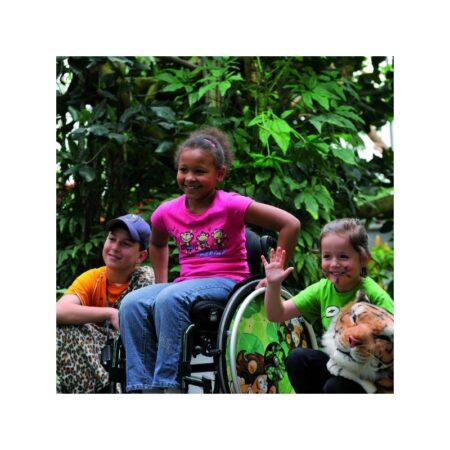 silla de ruedas infantil de aluminio autopropulsable de estructura rigida quickie simba 6