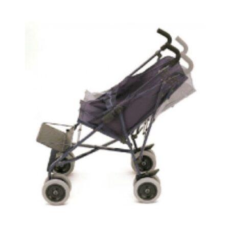 silla de ruedas tipo paraguas con respaldo reclinable 1