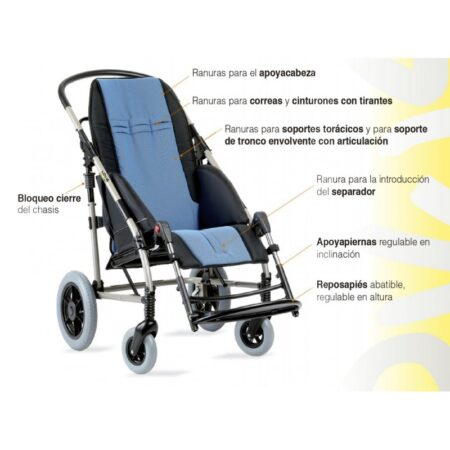 silla infantil novus 5