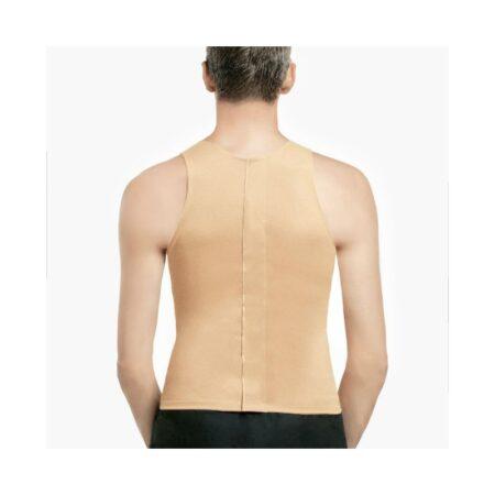 chaleco voe post liposuccion para hombre sin mangas y cierre dorsal 1