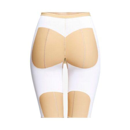 faja voe post liposuccion por debajo de rodillas hasta cintura con refuerzos y cierre de corchetes 2