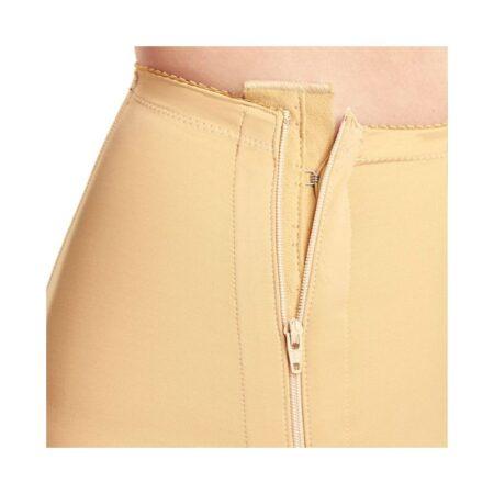 faja voe post liposuccion por debajo de rodillas y abdomen con cremalleras 2