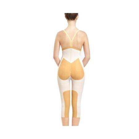 faja voe post liposuccion por debajo de rodillas y abdomen con refuerzos y cierre de corchetes 1