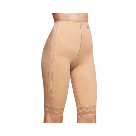 faja voe post liposuccion por encima de rodilla hasta cintura con cremalleras