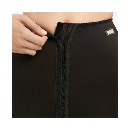 faja voe post liposuccion por encima de rodillas hasta cintura con corchetes