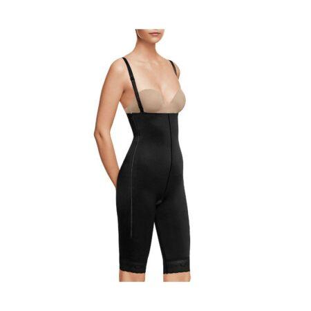 faja voe post liposuccion por encima de rodillas y abdomen con cremalleras