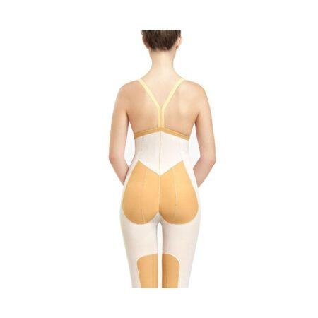 faja voe post liposuccion por encima de rodillas y abdomen con refuerzos y cierre de corchetes 2