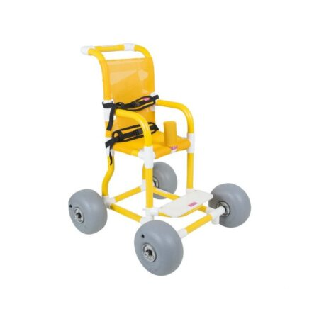 silla de ruedas para playa infantil