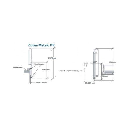 ascensor acuatico metalu pk transportable 2
