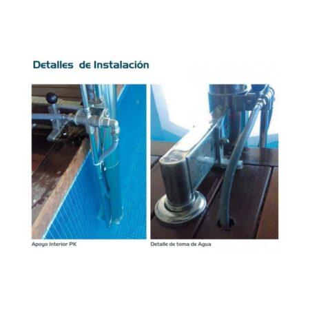 ascensor acuatico metalu pk transportable