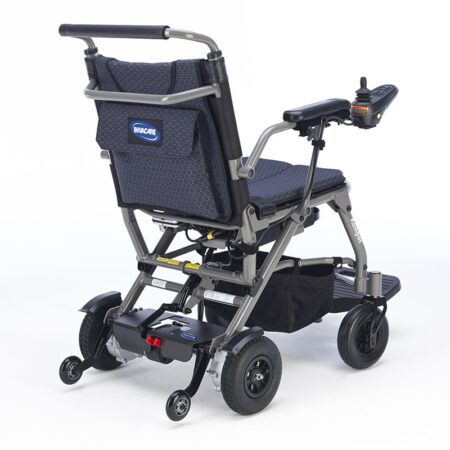 silla de ruedas electrica plegable kompas 2