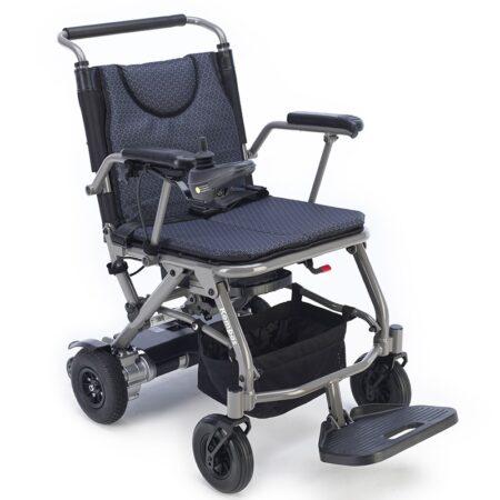 silla de ruedas electrica plegable kompas