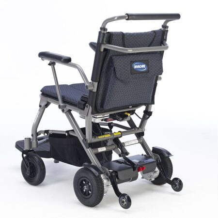 silla de ruedas electrica plegable kompas 5